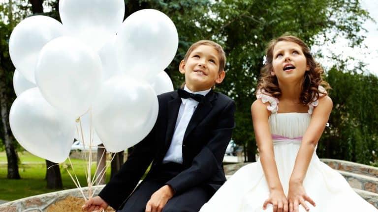 Kinderbetreuung bei der Hochzeit – Eine unvergessliche Hochzeit mit Kindern planen
