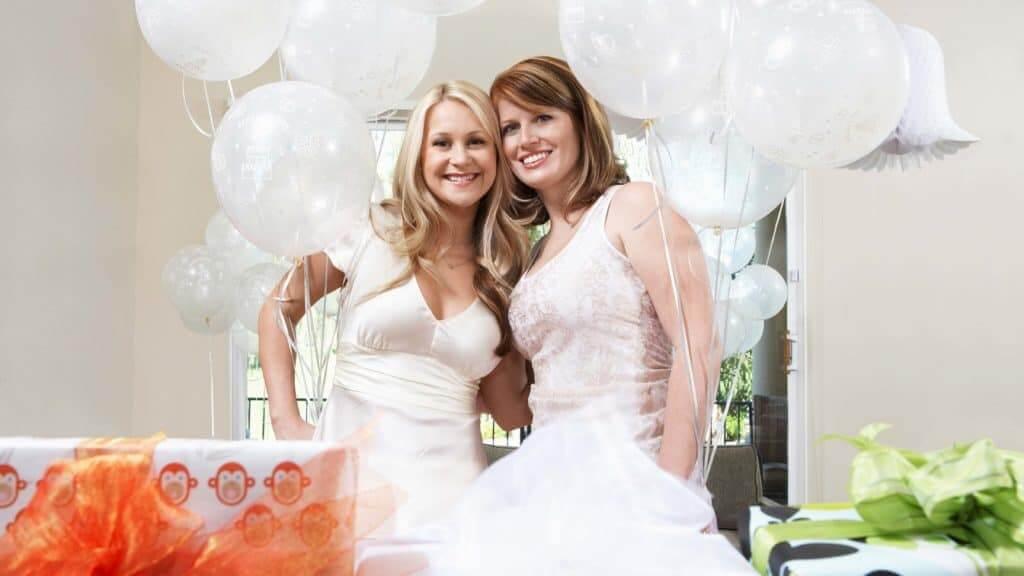 Luftballons steigen lassen auf der Hochzeit | DJ Sven Event