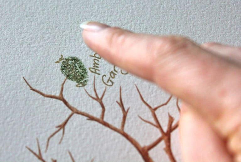 Wedding Tree – Hochzeitsbaum mit Fingerabdrücken